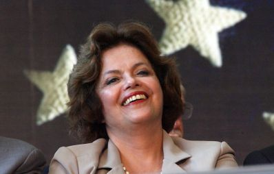 Prima femeie presedinte din Brazilia !