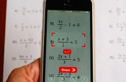 Fara probleme la matematica – aplicatia PhotoMath rezolva instant ecuatiile