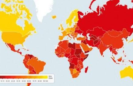 Ce pozitie ocupa Romania pe harta mondiala a coruptiei