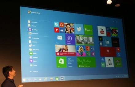 Microsoft lanseaza un nou sistem de operare: Windows 10