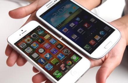 iPhone-uri versus telefoanele Samsung in topul preferintelor utilizatorilor