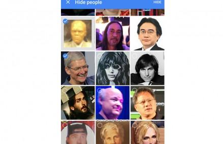 Google permite ascunderea pozelor din aplicatia Photos