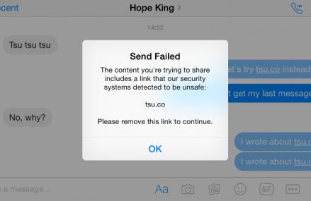 Facebook blocheaza mentionarea unui competitor