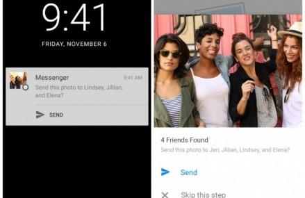 Facebook Messenger introduce o noua functie de recunoastere faciala