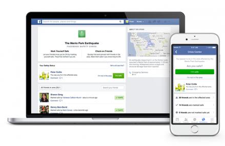 Facebook va activa Safe Check in cazul mai multor dezastre