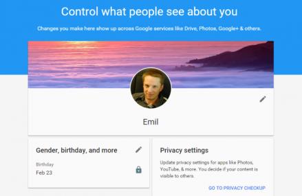 Google ajuta utilizatorii sa gestioneze datele personale