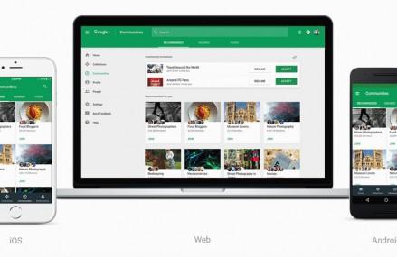Google a adus modificari retelei de socializare Google +