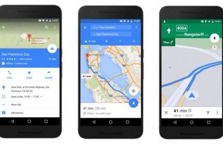 Aplicatia Google Maps este acum disponibila si offline