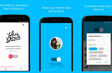 Noua aplicatie de la Google iti arata ce prieteni vor sa iasa in oras