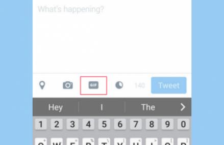 Twitter testeaza un buton de GIF-uri