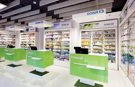 Dona îşi extinde reţeaua cu 25 de farmacii până la sfârşitul anului