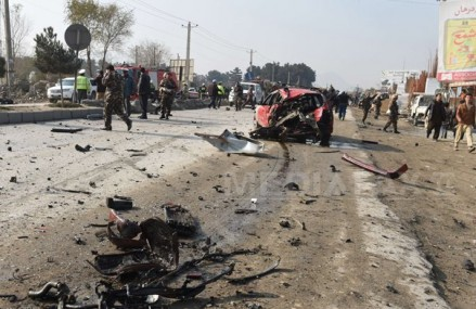 Mai multe explozii, auzite într-o zonă din Kabul în care se află reprezentanţe diplomatice