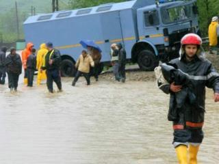 Inundatii in judetul Arad: aproximativ 200 de gospodarii