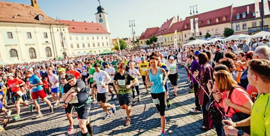 Metropolis Sibiu și Ballan Sports Wear au alergat alaturi de participanții la SemiMaratonul Sibiului 2016