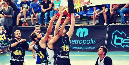 Metropolis Print și Ballan Sports Wear susțin a opta ediție a Sibiu Streetball