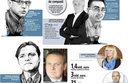 Asaltul polonez în România: cine sunt cei mai puternici manageri polonezi de la conducerea companiilor locale