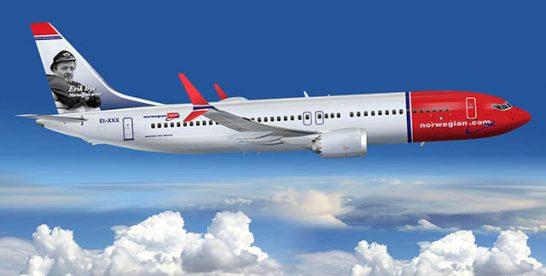 Un avion al companiei ariene Norwegian stabilește recordul pentru cea mai rapidă cursă comercială transatlantică subsonică New-York – Londra