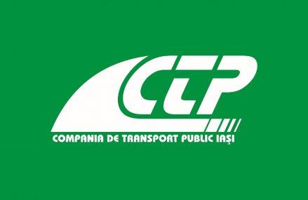 Anunț recrutare și selecție Director Tehnic al Societății COMPANIA DE TRANSPORT PUBLIC IASI S.A.
