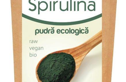 Spirulina – pulbere sau comprimate – sursa naturala de sanatate