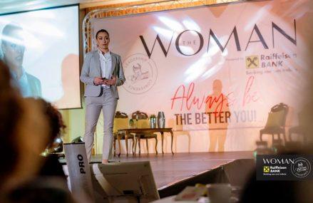 """Cătălina Ponor @ The Woman: """"Întotdeauna am avut scara aceea de vreau, pot și voi reuși"""""""