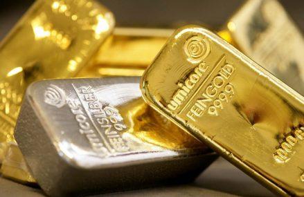 Valoarea argintului in comparatie cu alte metale pretioase