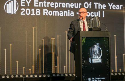 Ovidiu Șandor, CEO Mulberry Development, este Antreprenorul anului 2018 în România