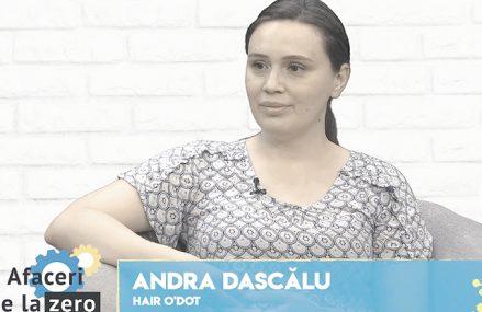 Afaceri de la zero. Andra Dascălu, o antreprenoare din Cluj, s-a întors în România şi a pariat 50.000 de euro pe o clinică de micropigmentare a scalpului
