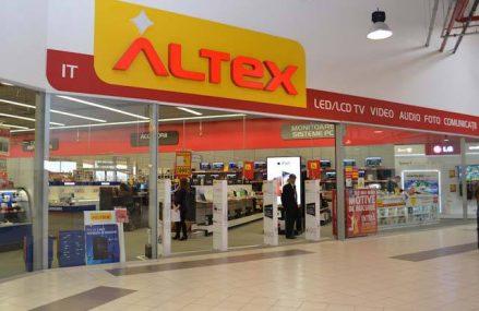Altex deschide în Botoşani un magazin de 1.200 mp după o investiţie de peste 500.000 de euro şi angajează casieri şi vânzători