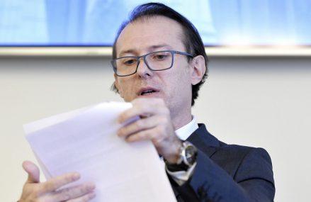 Ministrul Finanţelor Florin Cîţu anunţă reducerea subveţiei pentru partidele politice în 2021