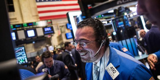 Principalul indice de creştere al pieţei americane de capital se bucură de cea mai bună perioadă din 2009 încoace