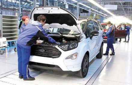 ACAROM: Producţia de automobile a scăzut în România cu 10% în ianuarie