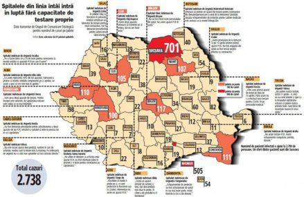 Harta comerţului modern local: Bucureştiul are singur 850 de magazine, cât cele mai puţin dezvoltate 16 judeţe împreună. În total în România sunt 5.250 de magazine moderne, cu vânzări de 13-14 miliarde de euro anual