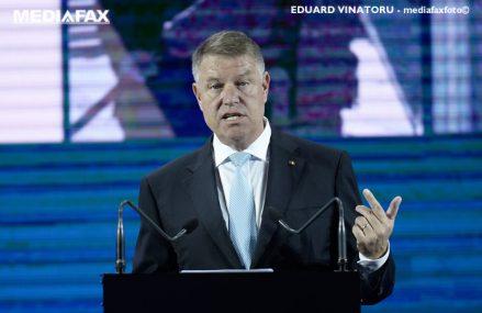 Preşedintele Klaus Iohannis: Este un lucru extraordinar că avem în România mii şi mii de voluntari