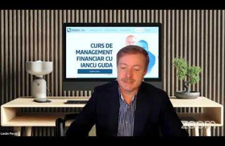 Webinar live cu Iancu Guda