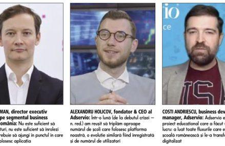 ZF IT Generation. Gabriel Ciordaş, CEO Bannersnack, platformă de design grafic: Căutăm o finanţare de circa 10 milioane de euro. Până acum am discutat doar cu investitori străini