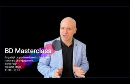 Sorin Faur – invitatie la BD Masterclass