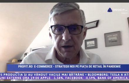 VIDEOCONFERINȚA E-commerce Profit.ro – Sturza, elefant.ro: Să nu avem nicio iluzie că România va scăpa de criză. Zone ca imobiliare, automotive, mobilă sau produse de lux vor fi primele victime
