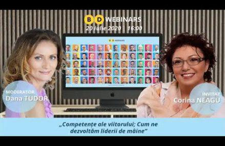 BD Webinar Corina Neagu – Competențe ale viitorului