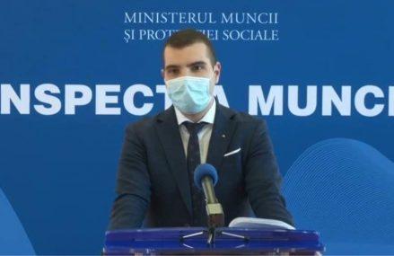 Inspectorul General de Stat Mihai Ucă anunță amenzi în valoare de aproximativ 1 milion de euro și 4.438 de angajatori verificați în ultima săptămână