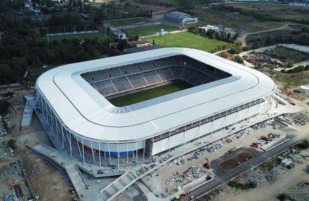 Construcții Erbașu împrumută 52,5 milioane de lei  de la BRD pentru construcția noului stadion Steaua, care va găzdui antrenamente la EURO 2020