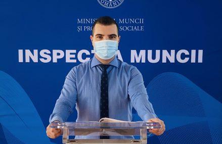 Inspectorul General de Stat Mihai Ucă anunță amenzi de peste 4.000.000 de lei și 1.129 de angajatori verificați în ultima săptămână