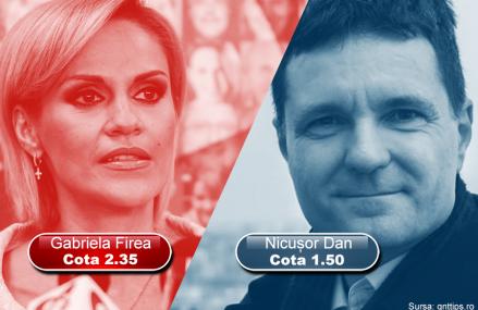 Candidații la Primăria București pot aduce bani… la pariuri – ce cote au Nicușor Dan și Gabriela Firea