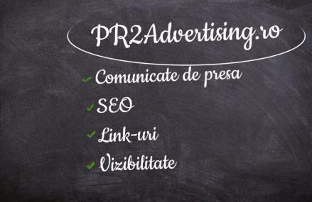 PR2Advertising vine cu un design nou, dar si cu noi oferte