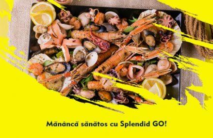 Fructe de mare si peste, la Splendid GO
