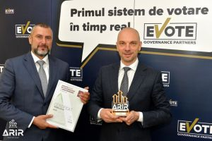 Compania eVote devine membru ARIR
