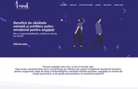 4mind Benefits, o platformă care oferă companiilor acces pentru angajaţi la servicii de psihoterapie şi coaching, a lansat abonamente individuale ce pot fi accesate direct de către angajaţi prin platforma BenefitOnline.ro