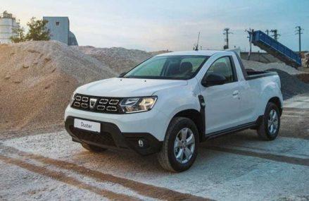 Dacia lansează versiunea Duster pick-up