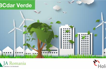 ABCdar Verde – proiect pilot realizat în parteneriat de  Junior Achievement și Holcim România, dedicat responsabilității față de mediu