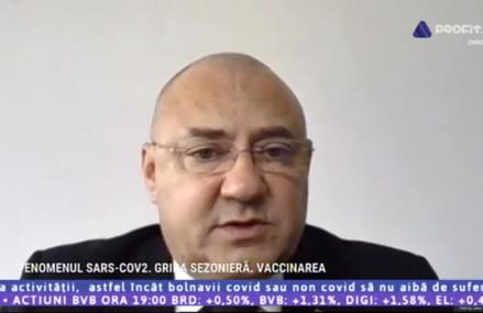 Profit Health Forum – Iulian Trandafir, ADRFR: Dozele de vaccin antigripal, dublate anul acesta, iar prima jumătate va fi livrată până la sfârșitul lunii. Vor exista trei categorii de vaccin împotriva COVID-19
