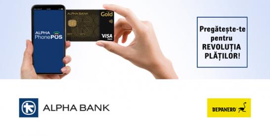(P) Alpha Bank anunţă primul comerciant din România care va înlocui POS-ul tradiţional cu telefonul mobil